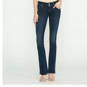 Hudson Jeans Signature Boot Cut Dark Indigo Sz 30